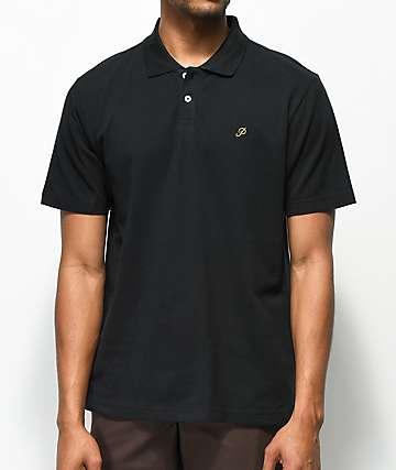 Primitive Classic P camiseta polo en negro