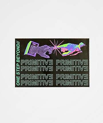 Primitive Contact pegatina