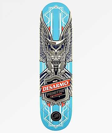"Primitive Desarmo Owl 8.0"" Skateboard Deck"