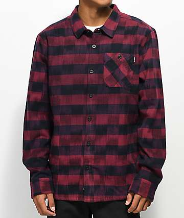 Primitive Diesel Red & Black Flannel Jacket