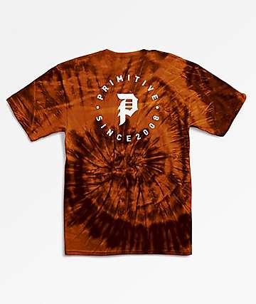 Primitive Dirty Orbit Sunset Tie Dye T-Shirt