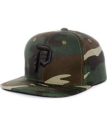 Primitive Dirty P Camo Snapback Hat