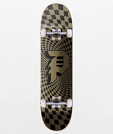 "Primitive Dirty P Check 7.75"" Skateboard Complete"