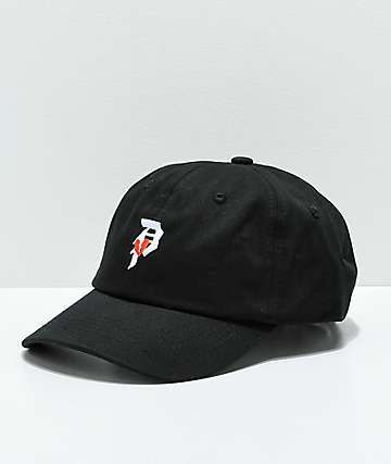 Primitive Dirty P Crush Black Strapback Hat
