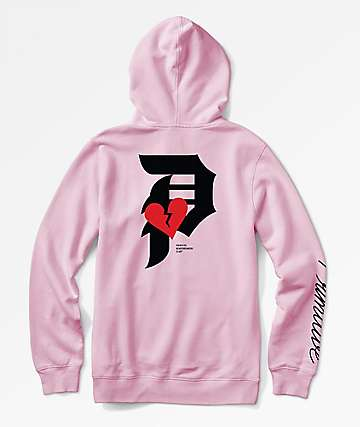 Primitive Dirty P Crush Pink Hoodie