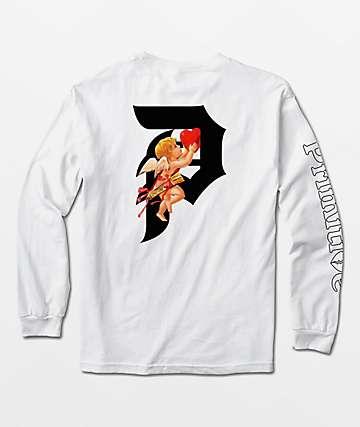 Primitive Dirty P Cupid Black Long Sleeve T-Shirt