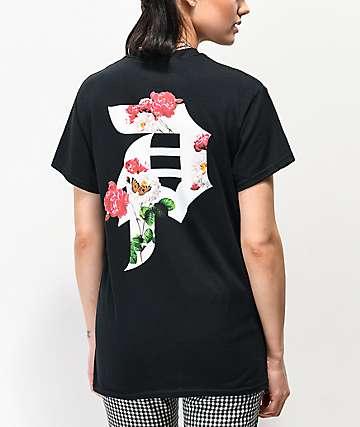 Primitive Dirty P Garden Black T-Shirt