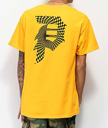 Primitive Dirty P Gold T-Shirt