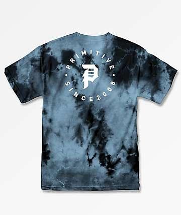 Primitive Dirty P Orbit Black Crystal Wash T-Shirt