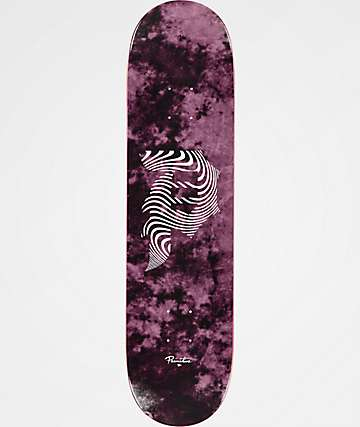 "Primitive Dirty P Waves 8.0"" Skateboard Deck"