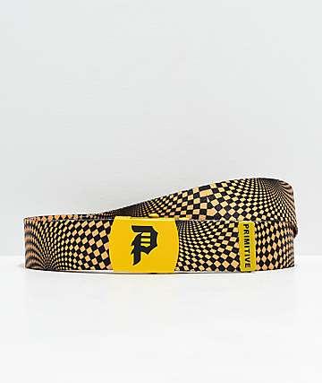 Primitive Dirty P cinturón tejido negro