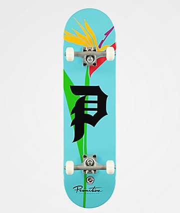 """Primitive Dirty Parade 8.12"""" completo de skate"""