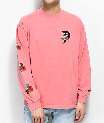 Primitive Dos Flores Coral Long Sleeve T-Shirt