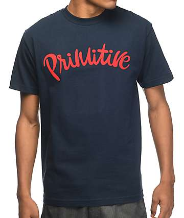 Primitive Dusty Navy T-Shirt