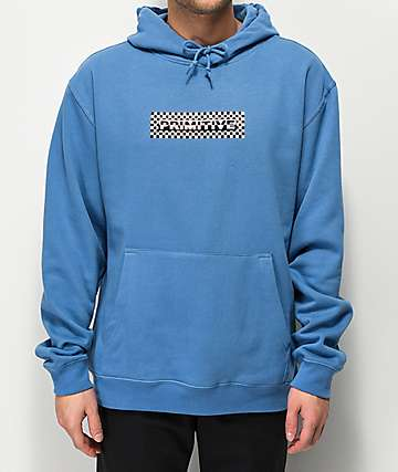 Primitive Finish Holographic Blue Hoodie