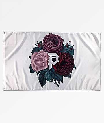 Primitive Floral Dirty P Flag