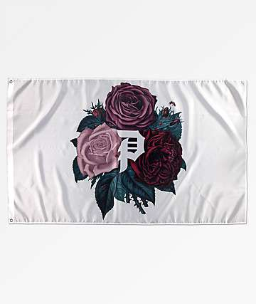 Primitive Floral Dirty P bandera