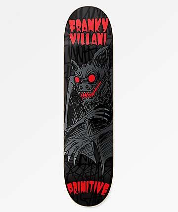 """Primitive Franky Four Fingers II 8.12"""" Skateboard Deck"""