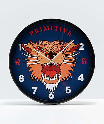Primitive G.I.T.D. Wall Clock