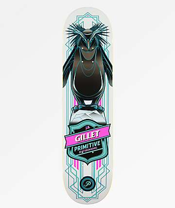 "Primitive Gillet Penguin 8.0"" Skateboard Deck"