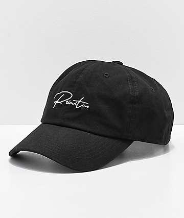Primitive Ginza Black Strapback Hat