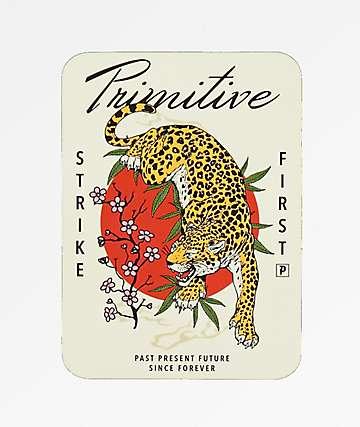 Primitive Ginza White Sticker