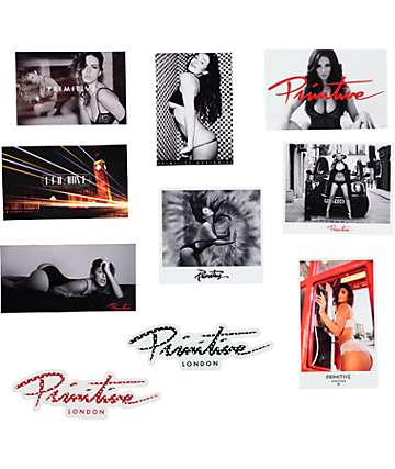 Primitive Glamour Sticker Pack