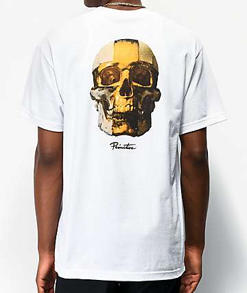 Primitive Gold Pack King White T-Shirt