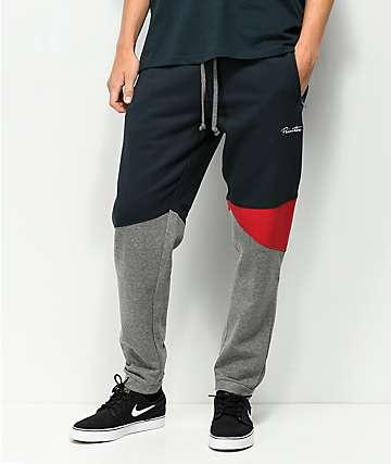 Primitive Greyson pantalones deportivos en azul marino