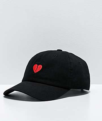 Primitive Heartbreakers Amor Black Strapback Hat