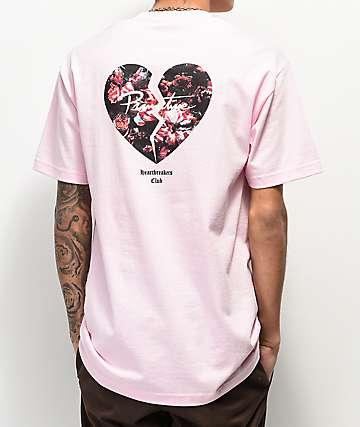 46dfe6ad94a4b Primitive Heartbreakers Broken Pink T-Shirt