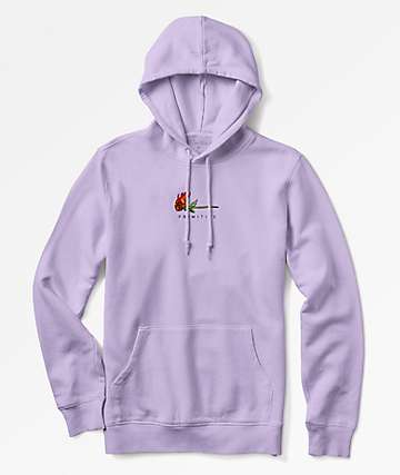 Primitive Heartbreakers Burning Lavender Hoodie