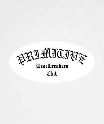 Primitive Heartbreakers Club Sticker
