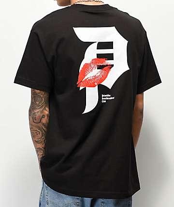 Primitive Heartbreakers Dirty P Lover Black T-Shirt