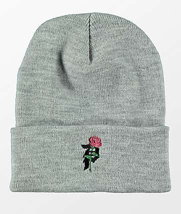 Primitive Heartbreakers Grey Beanie
