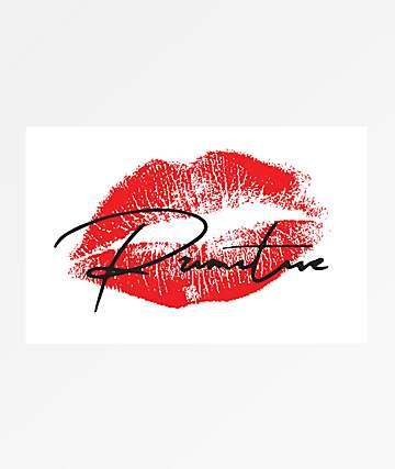 Primitive Heartbreakers Lover White Sticker