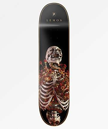 "Primitive Lemos Rise 8.12"" Skateboard Deck"