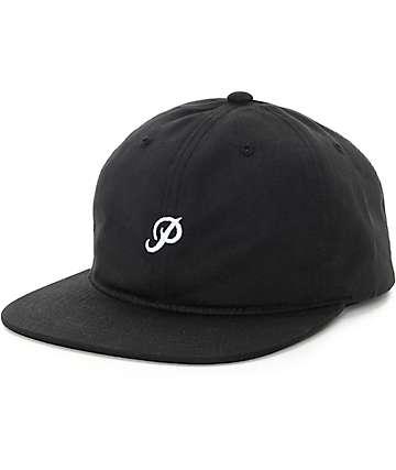 Primitive Mini Classic P Black Strapback Hat