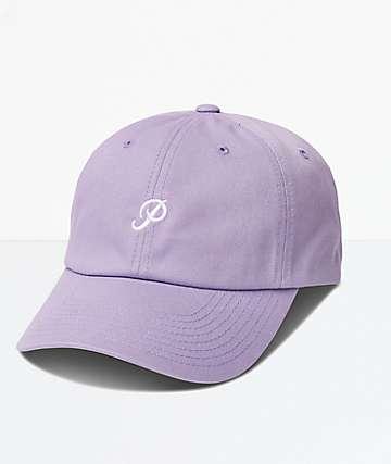 Primitive Mini Classic P Lavender Strapback Hat