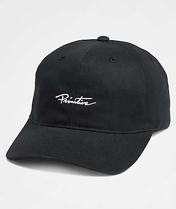 Primitive Mini Nuevo Black Strapback Hat