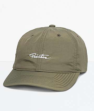 Primitive Mini Nuevo Olive Strapback Hat