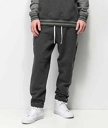 Primitive Moods Contour Grey Sweatpants