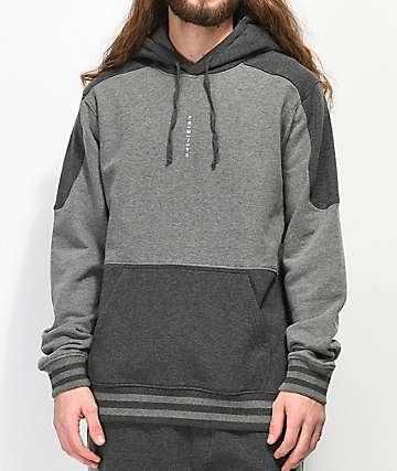 Primitive Moods Contoured Grey Hoodie