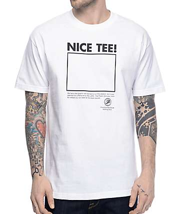 Primitive Nice White T-Shirt