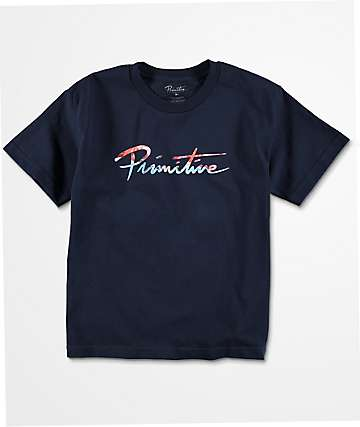 Primitive Nuevo Ink Boys Navy T-Shirt