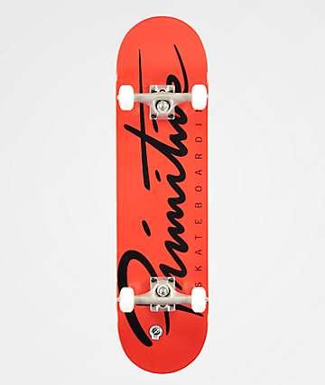 Primitive Nuevo Oversized Logo Skateboard Complete