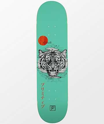 "Primitive O'Neill PJ Tiger 8.0"" Skateboard Deck"