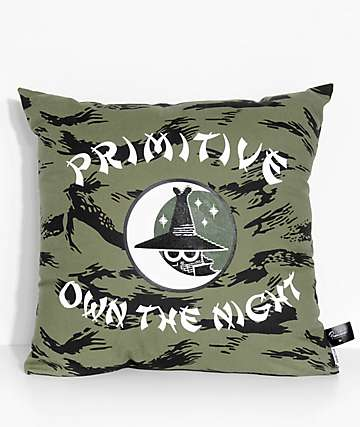Primitive Own The Night Brush Camo Pillow