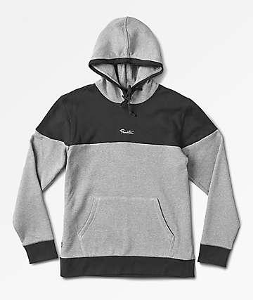 Primitive Pacer Grey & Charcoal Hoodie