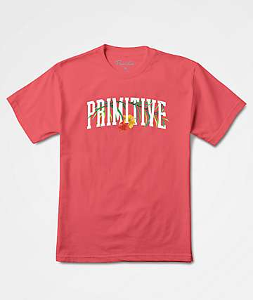 Primitive Palms Coral T-Shirt
